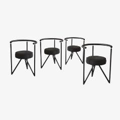 Chaises de Salon Miss Dorn par Philippe Starck, Set de 4