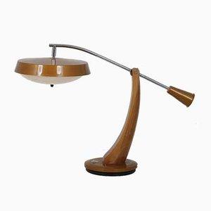 President Schreibtischlampe von Fase, 1960er