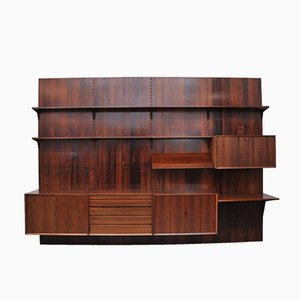 Rio Rosewood Shelving System by Poul Cadovius for Cado, 1960s