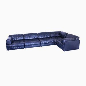 Modulares Mid-Century Sofa aus Leder