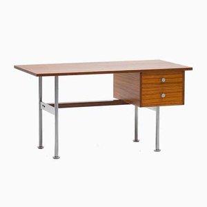 Schreibtisch aus Zingana Holz von Alfred Hendrickx für Belform, 1960er