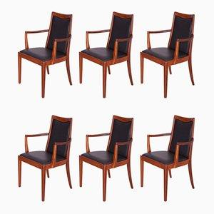Teak Esszimmerstühle von G-Plan, 1960er, 6er Set