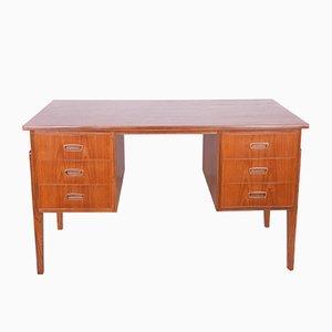 Teak Free Standing Desk, 1960s