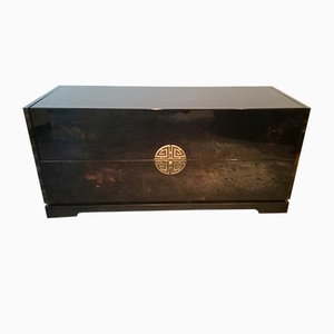 Vintage Lacquered Cabinet