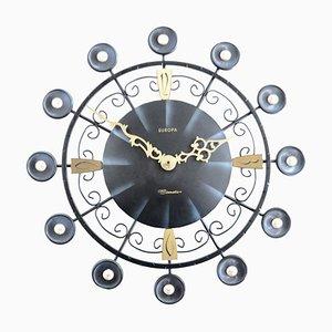 Horloge Vintage d'Europa Elomatic, années 60