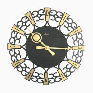 Orologio da parete vintage, anni '60