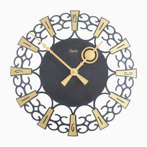 Reloj de pared vintage, años 60
