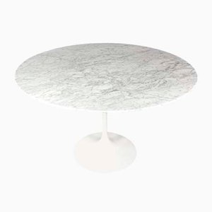 Marble Tulip Dining Table by Eero Saarinen for Knoll Inc. / Knoll International, 1970s