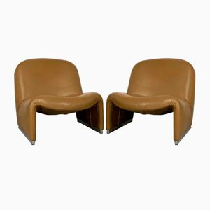 Camel Alky Lounge Chairs by Giancarlo Piretti for Castelli / Anonima Castelli, 1970s, Set of 2