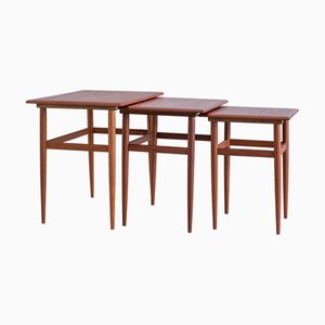 Mid-Century Danish Nesting Tables