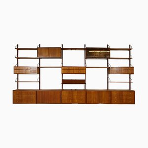 Wall Unit by Poul Cadovius for Danish Royal System, 1950s