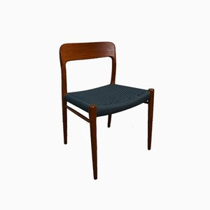 Chaise de Salle à Manger 75 par Niels Otto Møller pour J. L. Møllers, années 60