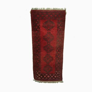 Hand Woven Afghan Rug, 1960s