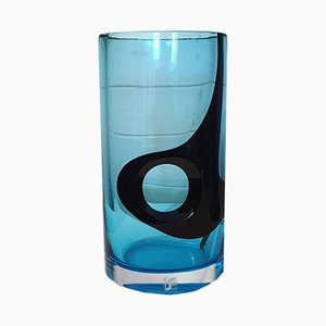Vase aus Kunstglas von Livio Seguso für Seguso Arte Vetro, 1980er