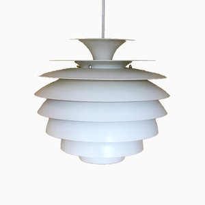 Vintage Model Barcelona Pendant Lamp by Bent Karlby for Lyfa, 1960s