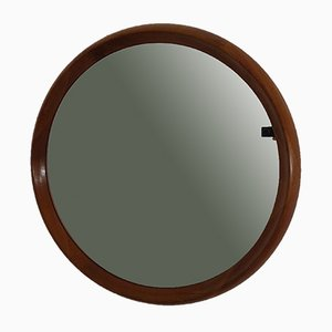 Large Danish Teak Mirror by Bernhard Pedersen for Viby, 1960s