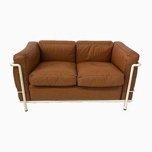 Mid-Century Model LC2 Sofa from Cassina
