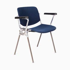 Silla de escritorio modelo DSC 106 Mid-Century de Giancarlo Piretti para Castelli / Anonima Castelli