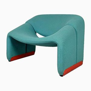 F598 Lounge Chair by Pierre Paulin for Artifort, 1970s