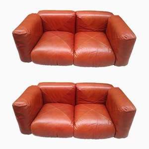 Vintage Sofas by Mario Marenco for Arflex, Set of 2
