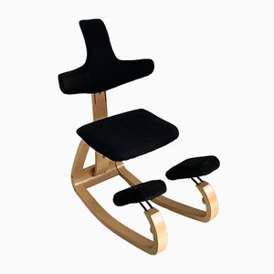 Fabric Lounge Chair by Peter Opsvik for Stokke, 1980s