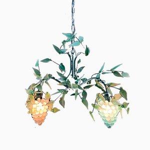 Murano Wandlampe von Vistosi, 1960er
