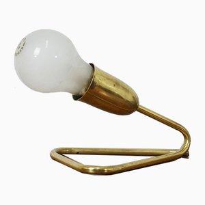 Minimalistische Mid-Century Messing Tischlampe von JT Kalmar