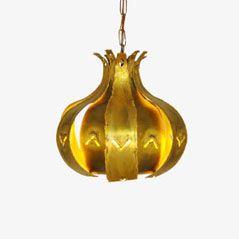 Lampe à Suspension Vintage par Svend Aage Holm Sorensen