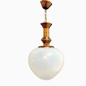 Lámpara de techo de Ignazio Gardella para Azucena, años 50