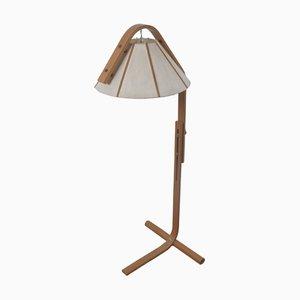 Lámpara de pie vintage de Jan Wickelgren para Aneta