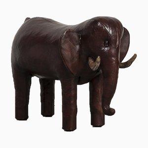 Vintage Elephant Footstool by Dimitri Omersa