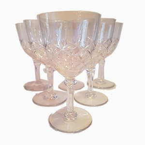 Water Glasses from Saint-Louis, 1980s, Set of 6