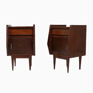 Portuguese Nightstands, 1950s, Set of 2