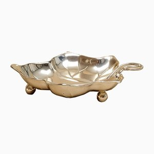 Vintage Silver-Plated Candle Bowl by Kurt Mayer for WMF