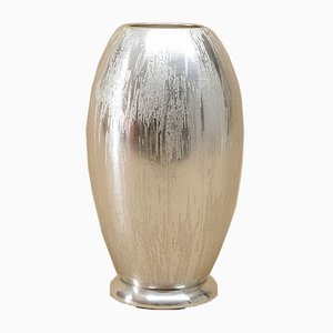 Silver-Plated Ikora Vase from WMF, 1960s
