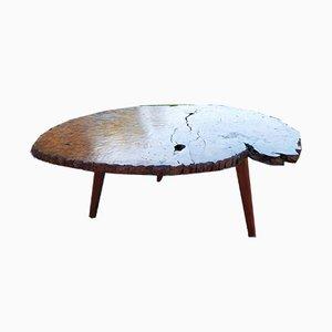 Brutalist Tripod Coffee Table, 1950s