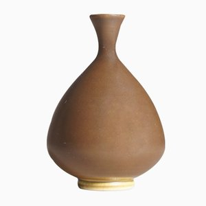 Stoneware Miniature Vase by Anders Dolk, 1983