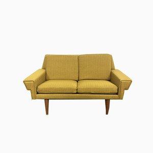 Schwedisches 2-Sitzer Sofa, 1950er