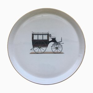 Italian Porcelain Dish from Verbano, 1960s