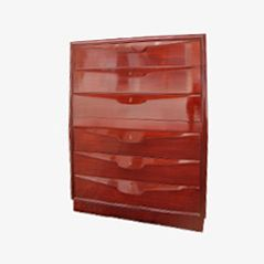 Vintage Wooden Chest of Drawers by Osvaldo Borsani, 1950s