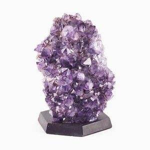 Large Vintage Amethyst Sculpture