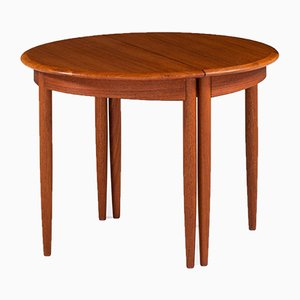 Swedish Teak Side Table, 1950s