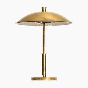 Lampe de Bureau en Laiton, Suède, 1950s