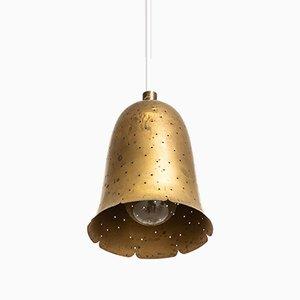 Schwedische Messing Deckenlampe von Boréns, 1950er
