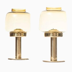 Model L-184 Candleholders by Hans-Agne Jakobsson, 1950s, Set of 2