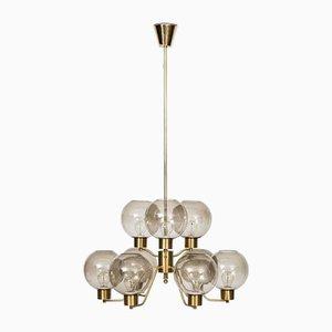 Swedish Ceiling Lamp by Erik Wärnå for Ewå, 1960s