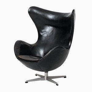 Egg chair nr. 3316 di Arne Jacobsen per Fritz Hansen, anni '60