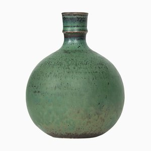 Vaso in ceramica di Stig Lindberg, Svezia, anni '50