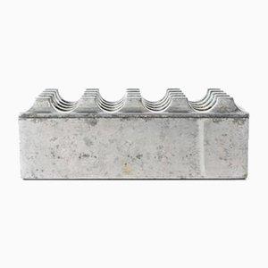 Cendrier Modèle Ultima 15 en Aluminium par Beck & Jung, 1980s