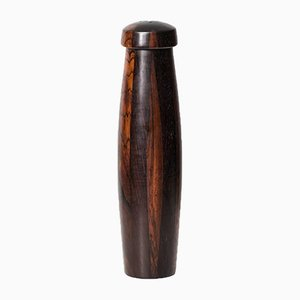 Large Danish Rosewood Salt Shaker, 1960s
